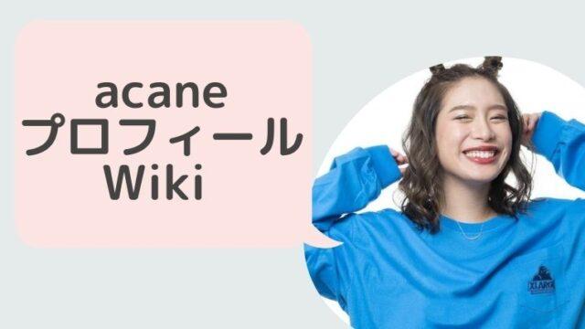 acane(歌手)プロフィールWiki!路上ライブや今後の活動は?