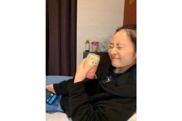 【画像有】長谷川百々花の活動終了の理由は?14歳で飲酒している画像が流出!-3