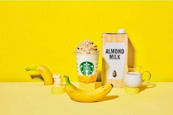 バナナンアーモンドミルクフラペチーノの無料カスタマイズ12選!濃厚アレンジが美味すぎる!-2