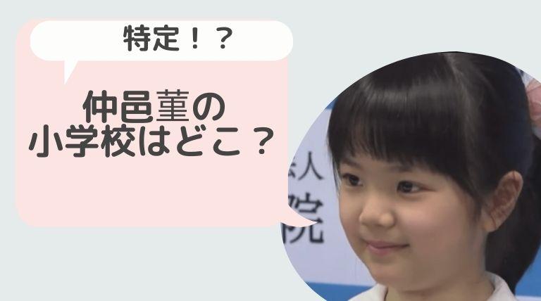 仲邑菫(なかむらすみれ)の小学校はどこ?高見小学校で韓国語の実力は通訳レベル!