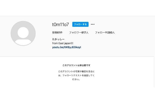 【特定】長瀬智也の本物インスタアカウントはtttt117ではない!裏垢を作っている理由とは?-3
