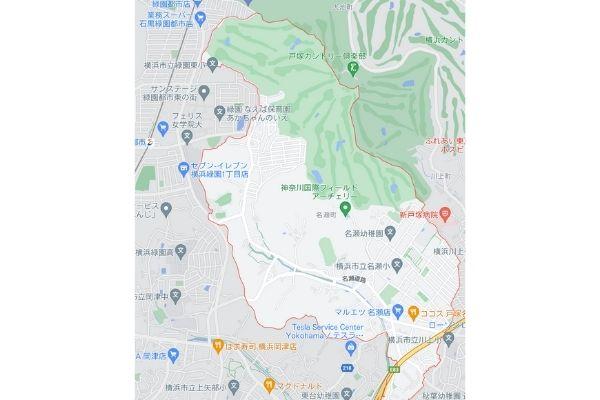 【特定!?】横浜市戸塚区のニシキヘビが脱走したマンションはどこ?こども公園も近くにあってヤバイ!-2