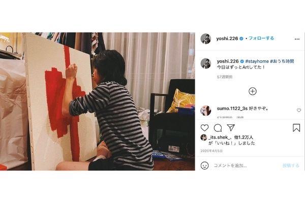 紗栄子,YOSHI,交際,アート,