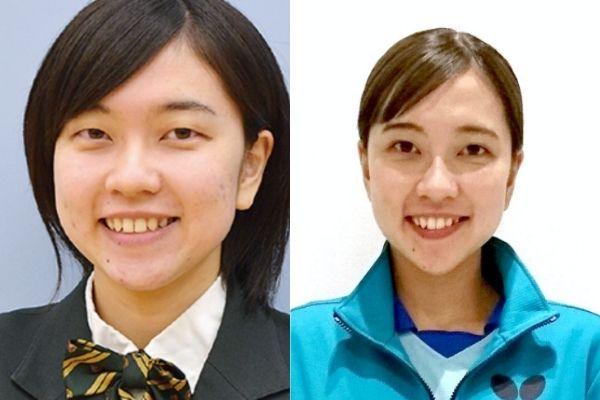 石川佳純,妹,大学生