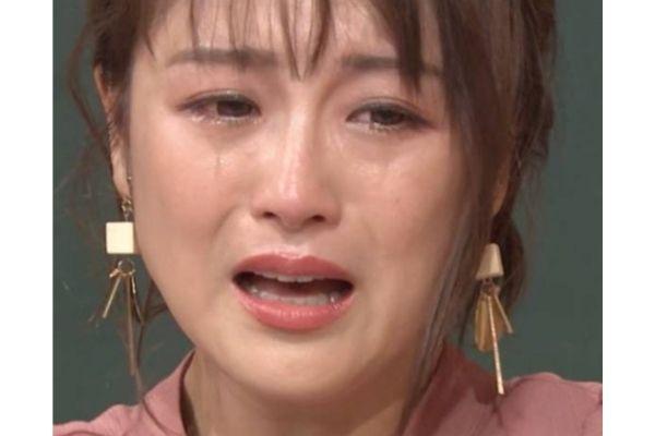 鈴木奈々号泣
